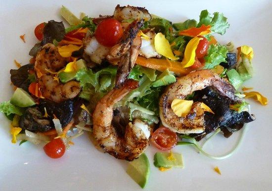 LUMA: Blackened Shrimp Salad