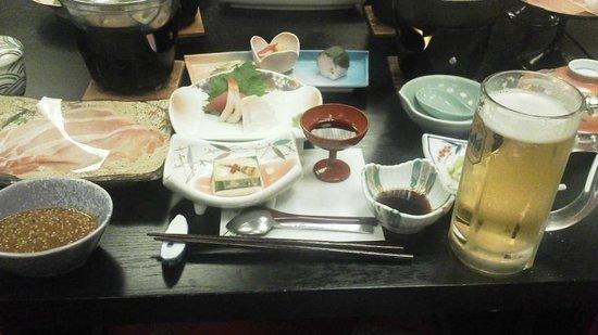 Keizan: 夕食