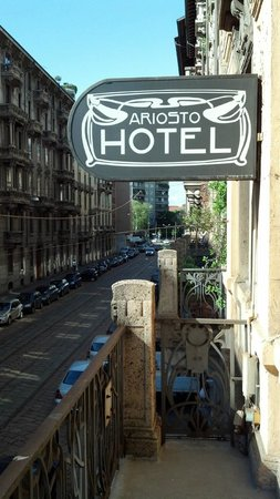 Ariosto Hotel : Our little balcony view