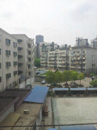 Shanghai Wells Inn: Vista desde habitacion