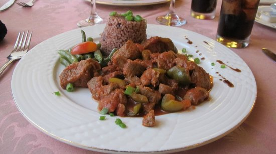 "Rice and Lamb - Criollo ""Calalu"""
