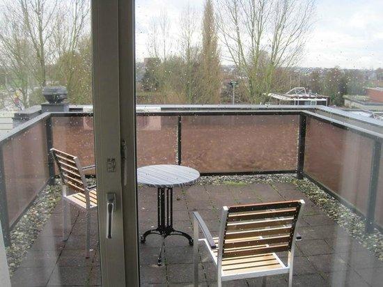 Grand Hotel Amstelveen: balcony