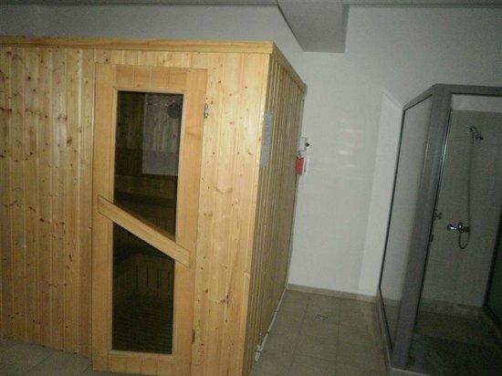 Hotel Posada Vidraru: sauna