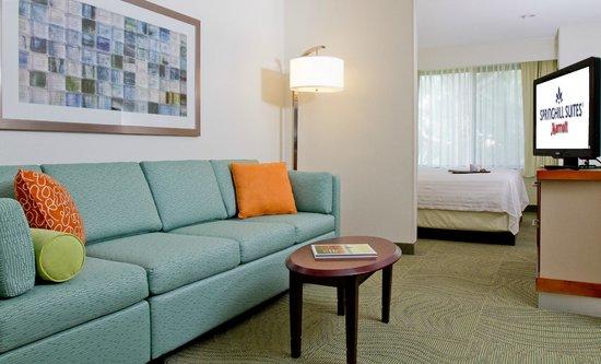 Springhill Suites Sarasota Bradenton: Suite Living Area