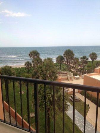 Oceanique Resort: View of ocean from 3rd floor unit