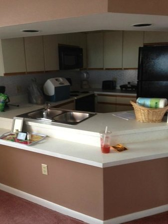 Oceanique Resort: Kitchen