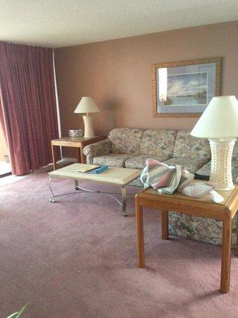 Oceanique Resort: Living room view