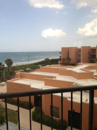 Oceanique Resort: View from room to ocean