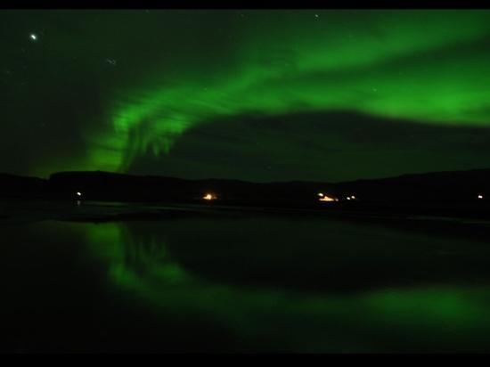 Icelandair Hotel Klaustur: the northernlights just around the corner! amazing view!