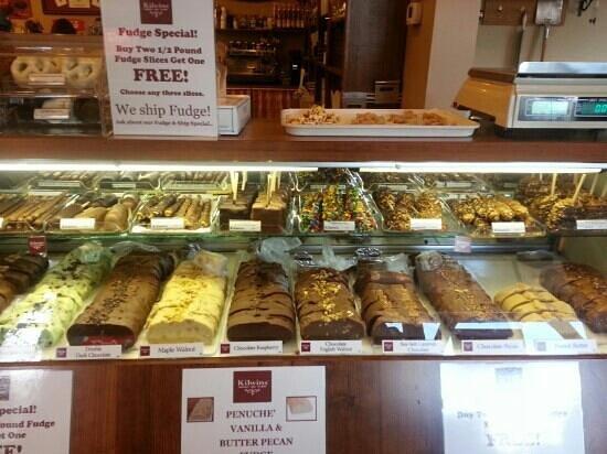 Kilwin's Chocolates and Ice Cream: nice