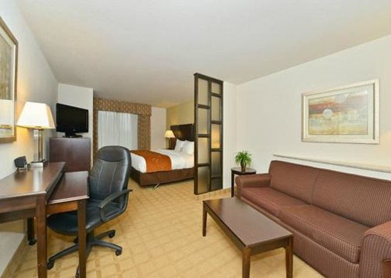 Comfort Suites: Accessible King Suite