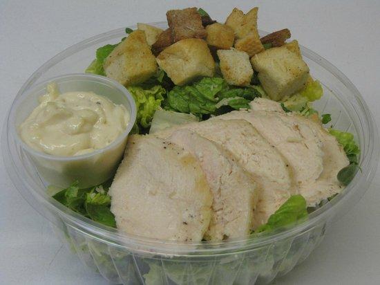 The Loose Goose Cafe: Chicken Caesar Salad