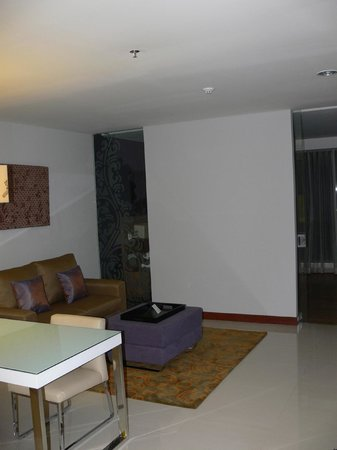 Citadines Rasuna Jakarta Living Room Division To Bedroom