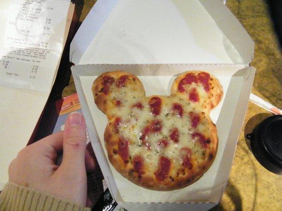 Pizzeria Bella Notte - Disneyland Paris : Pizza menu enfant