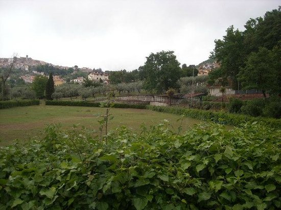 Santa Maria delle Grazie, อิตาลี: Una siepe lussureggiante