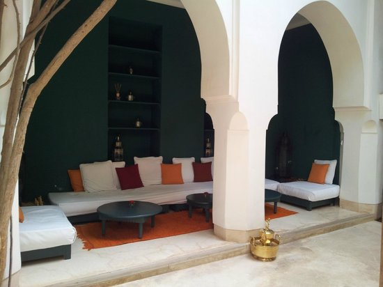 Hotel & Spa Riad Dar Sara: Relaxation area