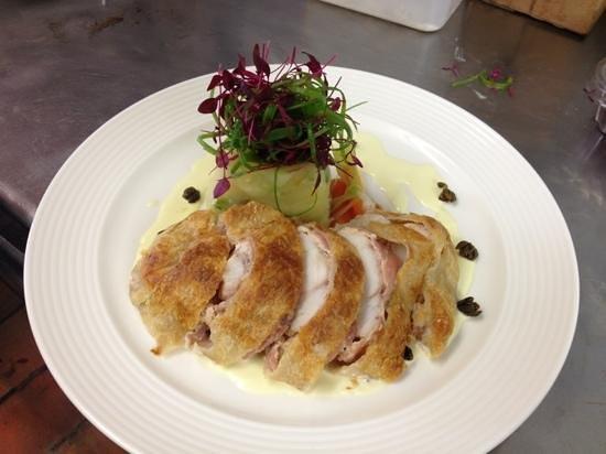 39 Steps Restaurant: monkfish Wellington