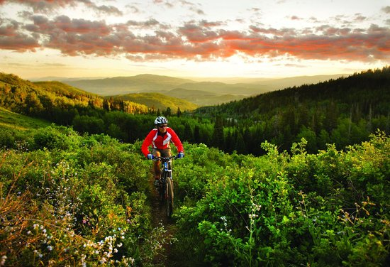 Montage Deer Valley: Mountain Biking at Deer Valley