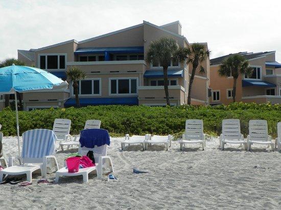 Sand Cay Condominiums Beach Resort: Sandy Cay from the beach