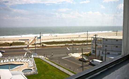 Inn of Cape May: Ocean view from rm. #92