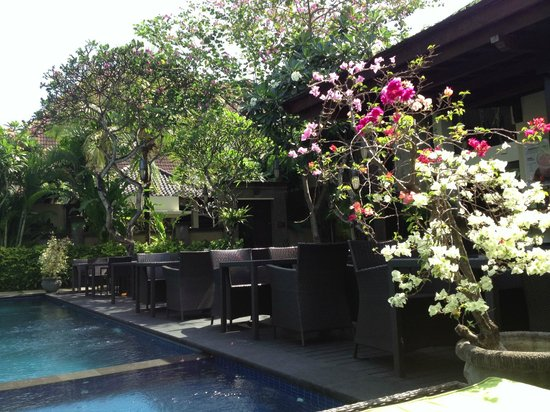 Kamuela Villas and Suite Sanur: Foliage