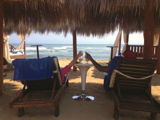The Royal Suites Punta de Mita by Palladium: We replaced the Corona commercial with Pina Coladas!