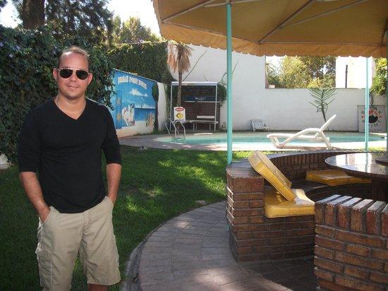 Break Point Hostel: churrasqueira