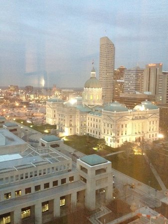 Marriott Indianapolis Downtown: view from my room