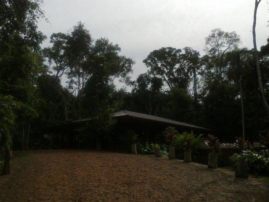 La Cantera Lodge de Selva by DON : Cuerpo central del hotel