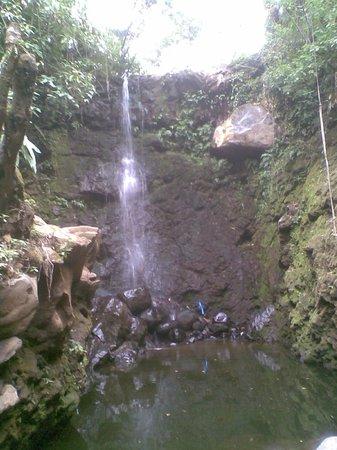 Hotel Monte Campana: cascada