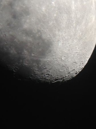 Mamalluca Observatory: la luna desde el mamalluca