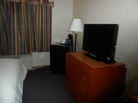 Days Inn - Vancouver Airport: TV had lots of channels to choose from