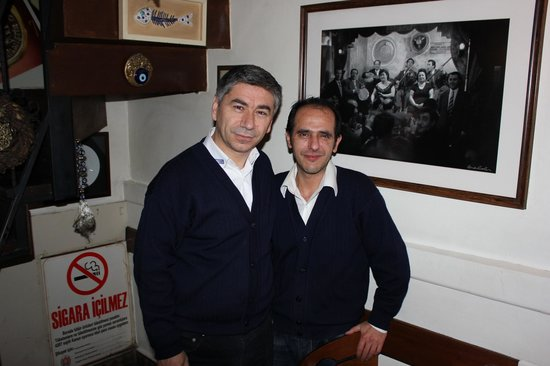 The kind and warm personnel of the Boncuk Restaurant