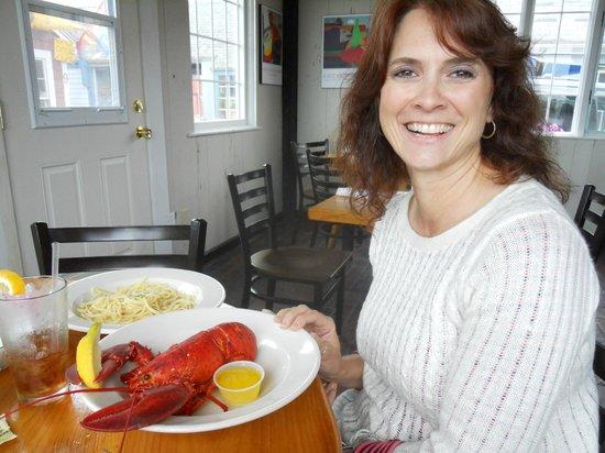 7th Wave Restaurant: Lobster.