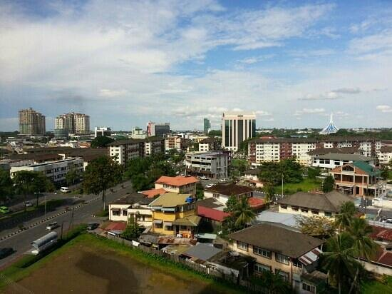 Hotel Grand Continental Kuching: View from Hotel Room