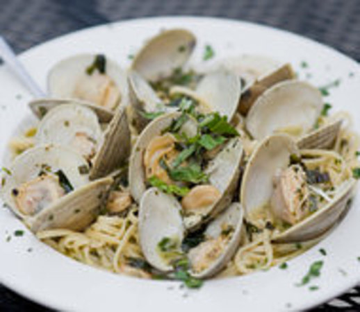 Linguini With White Clam Sauce Picture Of The Muscoot