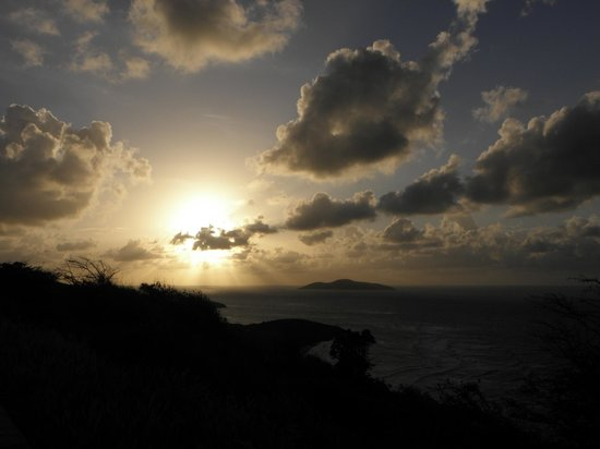 St. Croix: Sunset at Point Udall