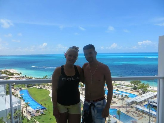 Hotel Riu Palace Peninsula: our room view
