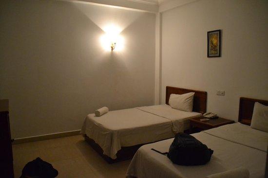 Siem Reap Bat Hotel : the twin room