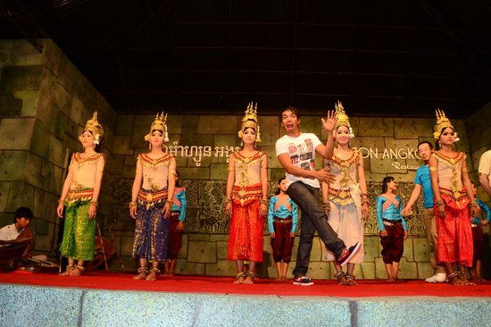 Siem Reap Bat Hotel : apsara show