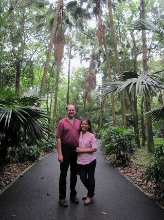Liangfeng River Forest Park of Nanning: in the forest