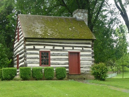 Mercersburg, PA: Buchanan's Birthplace Relocated Log Cabin