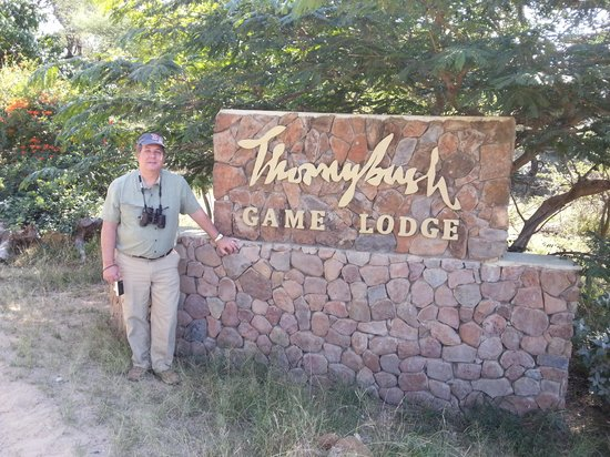 Thornybush Game Lodge: Lodge Entrance