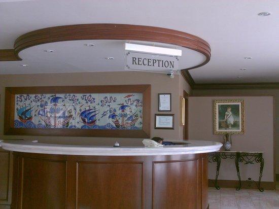 Hotel Cactus Fleur: reception