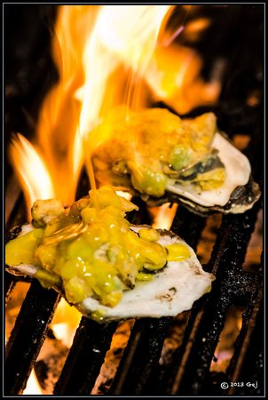 EAT! Orange Beach: chargrilled oysters