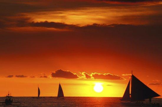 The District Boracay: Sunset
