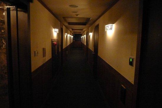 Lava Model : The corridor of each floor