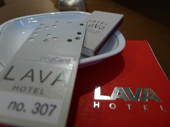 Lava Model : My room key