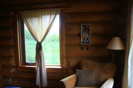 O'Reilly Organic Farm Bed & Breakfast: the rooms are super cute in the morning
