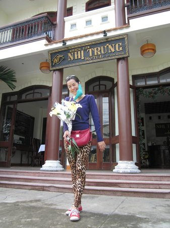 the 2nd time at Nhi trung Hotel, Jan 2013.